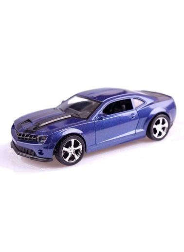 Işıklı ve Müzikli Çek-Bırak Metal Araba-Motor Max